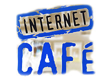 Is it allowed for children/teens to go to internet café?